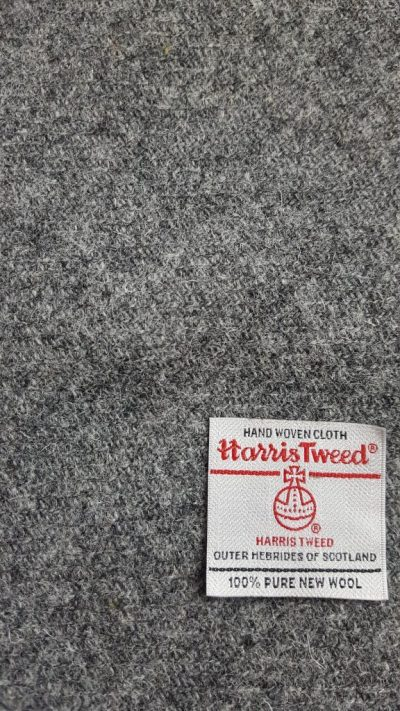 Grey Harris Tweed